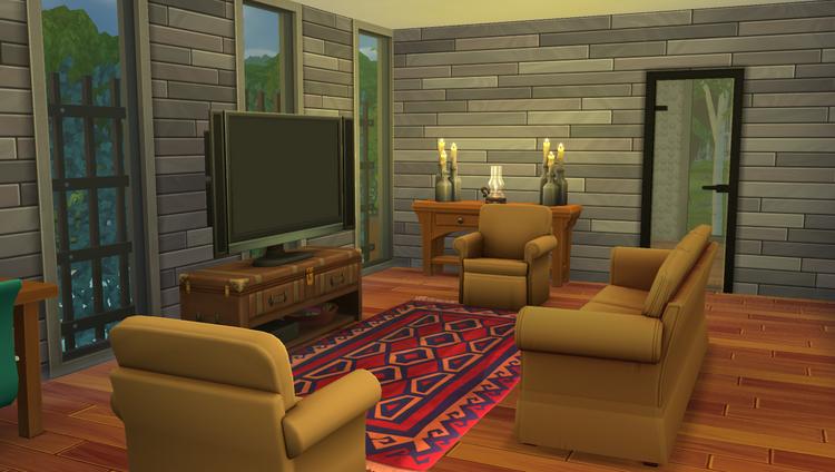 Sims 4 : Aménagement de l'immeuble Bois du Parc