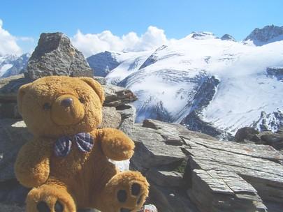 mascotte en montagne