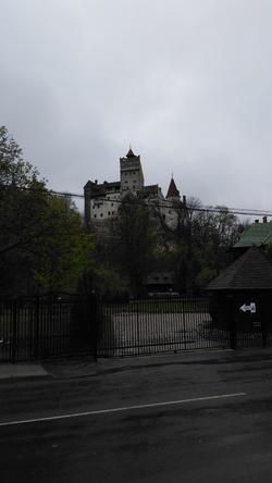 Le Comte Dracula au Château de Bran à Brasov