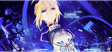 fate stay night saber graphisme