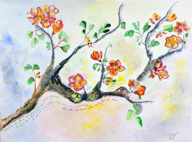 Un zeste de printemps au coeur de l'hiver