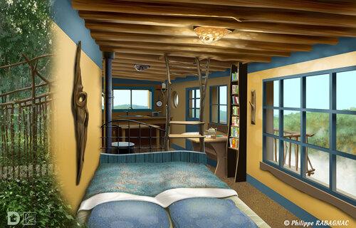 Projet cabanes - Thalie