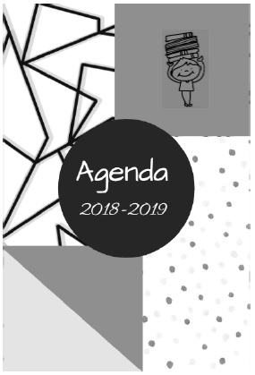 "Un agenda fait ""maison"" Version 2018-2019"