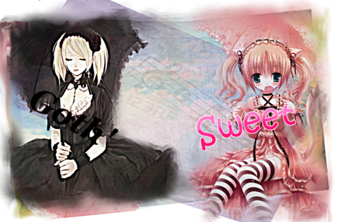 [Bannière] Sweet or gothic lolita.