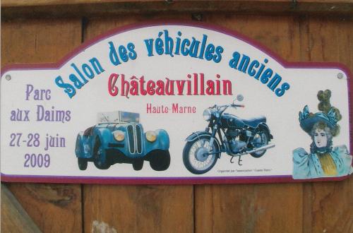 Plaques de Rallye 2009