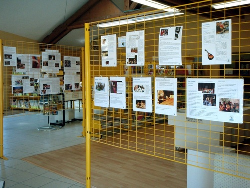 Exposition Ecole de Musique de La Flume
