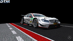 Team HWA AG Paul Di Resta Mercedes AMG C-Coupe