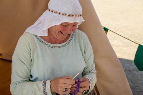 Exploration d'une autre technique textile venue du fond des temps!