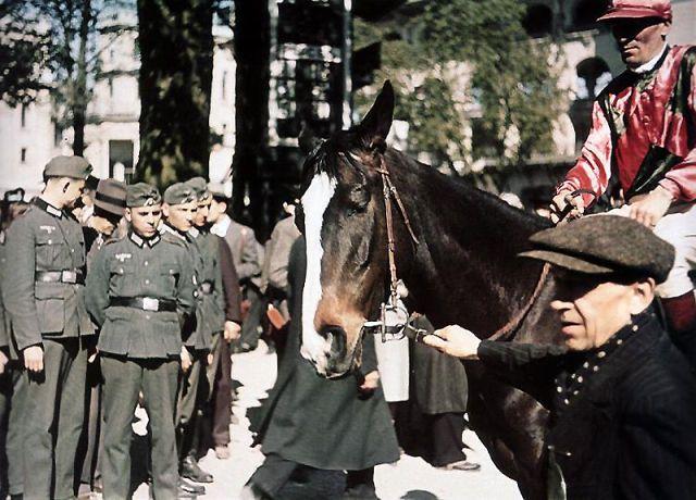 Andre Zucca: Nazi Propaganda Photos - Paris during WW218