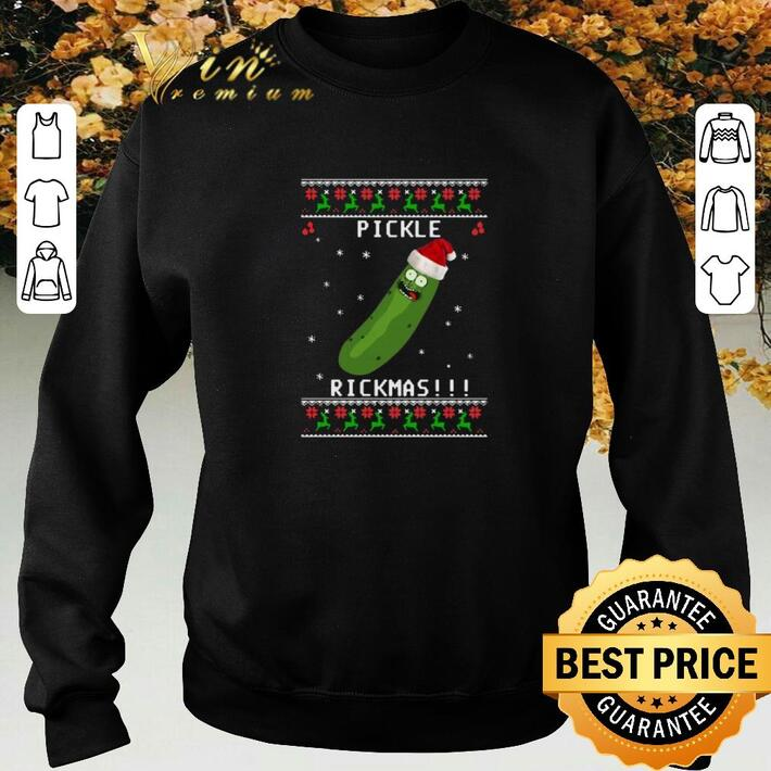 Awesome Rick And Morty Pickle Rickmas Ugly Christmas shirt
