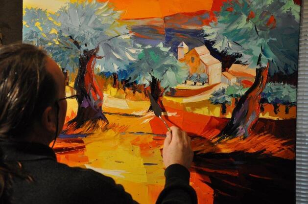 PATRICK TUAL, ARTISTE