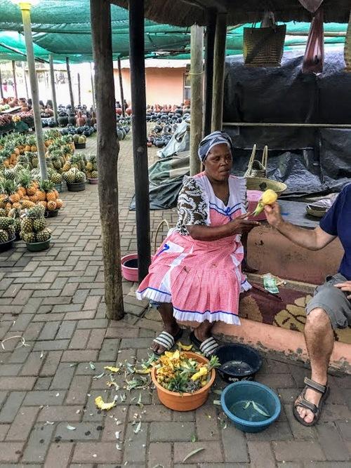 de délicieux ananas