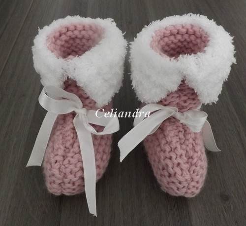 Tricot: Chaussons