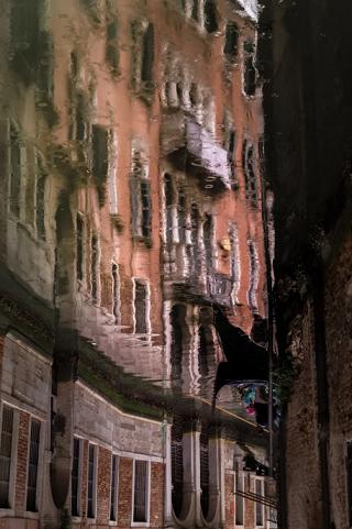Venise se mirant dans l'eau ...