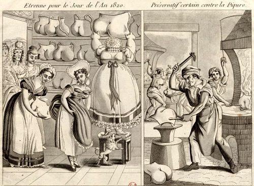 Étrennes pour le jour de l'an 1820. Préservatif certain contre la piqûre