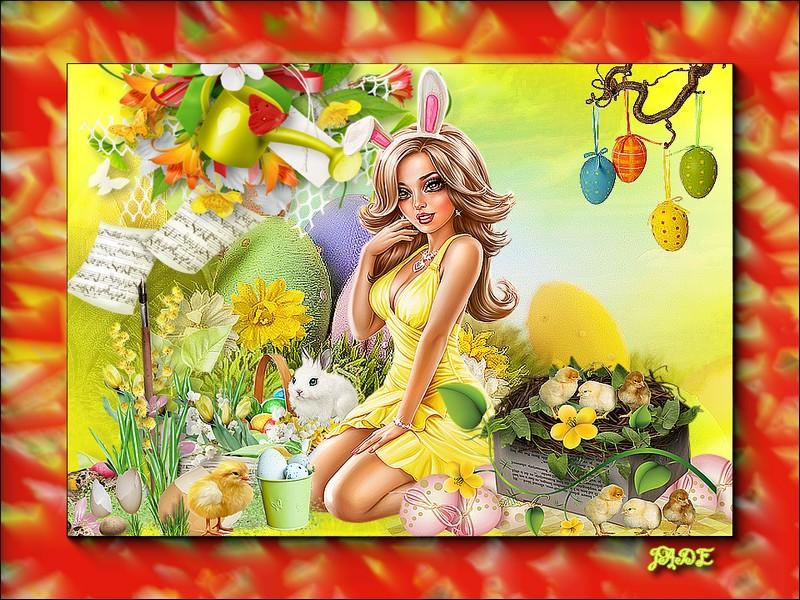 Bonnes Fetes de Paques a vous toutes