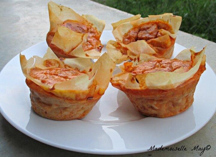 Recette: crousti moelleux de thon et tomates