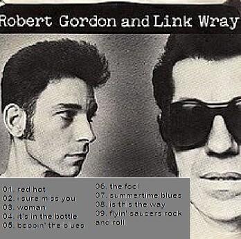 En V'là du live! Robert Gordon et Link Wray - Max's Kansas City NY - 22 Avril 1977
