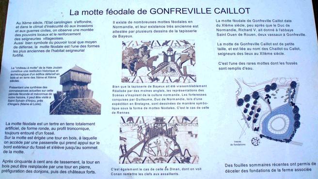 LES REMPARTS DE GONFREVILLE-CAILLOT (Seine-Maritime)
