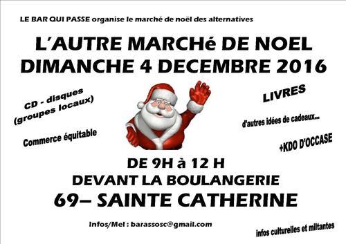 L'autre marché de Noel - 4 décembre 2016 - Ste-Catherine