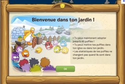 On peut adopter plus de puffle