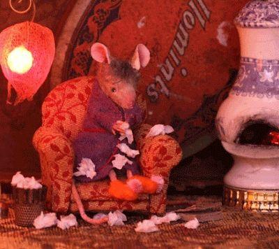 mouseshouses.blogspot.com | Cute animal pictures, Bird sculpture, Felt  animals