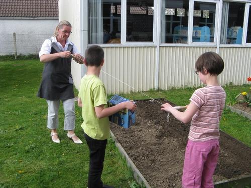 Le jardinage à l'école