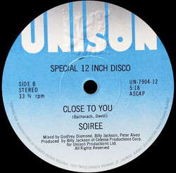 Soirée - Close To You