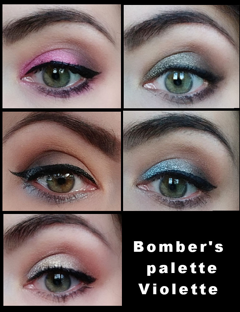 Bomber's palette Djiulicious (version pop)