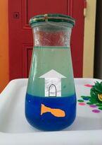 *Jeu sensoriel: océan calmant en bouteille (calming jar)
