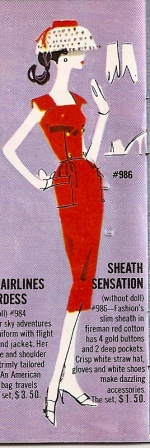 Barbie vintage : Sheath Sensation