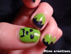 Nail art hallowen!