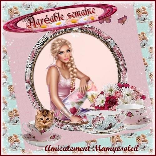 Agréable semaine Amicalement  Mamyesoleil-1