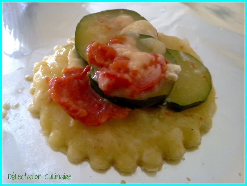 Ronde Interblog # 20 ; Tartelettes tatin au fromage de chèvre et légumes du soleil