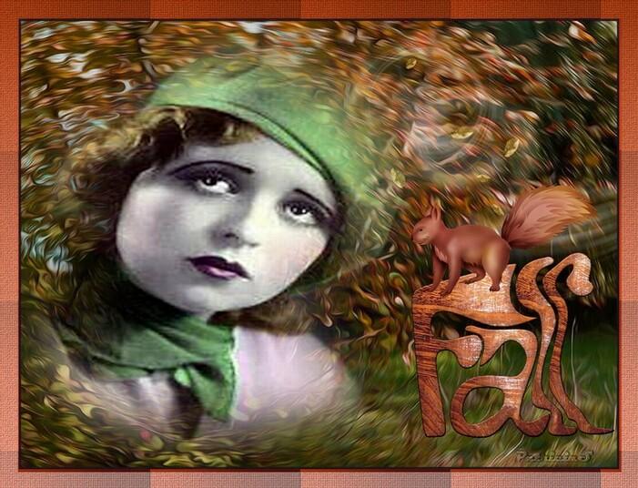 PORTRAIT DE FEMME chez marjolaine