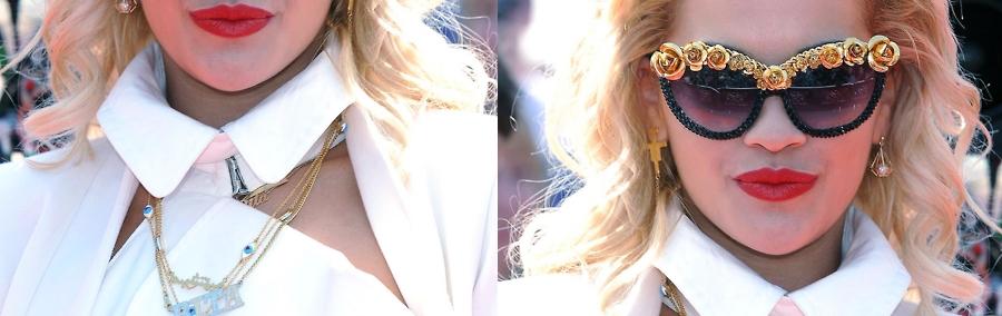 Rita Ora prouve qu'elle a le X Factor à Londres