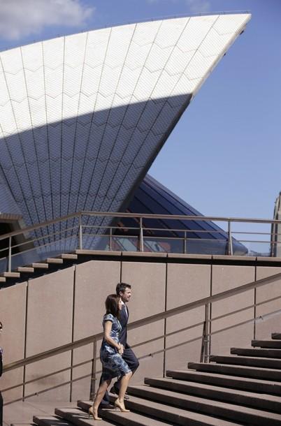Mary et Frederik à Sydney