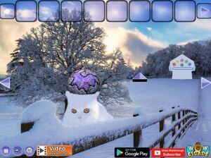 Jouer à Magical snow animal escape
