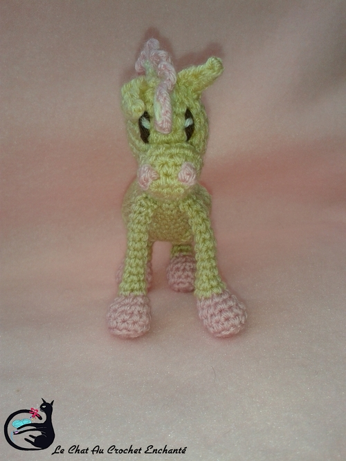 Poney au crochet (Mini Poons Variante)