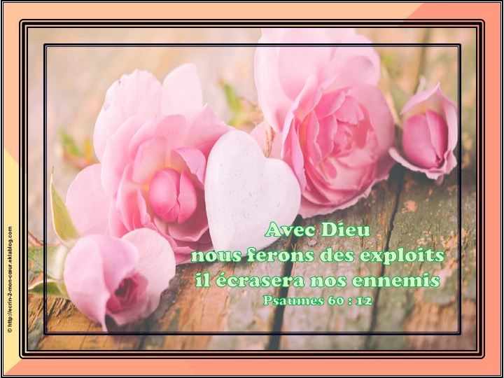 Ronde Versets du coeur 175