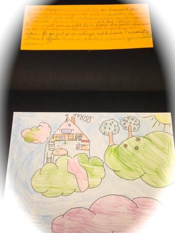 Le livre de contes écrit par les élèves de CE1