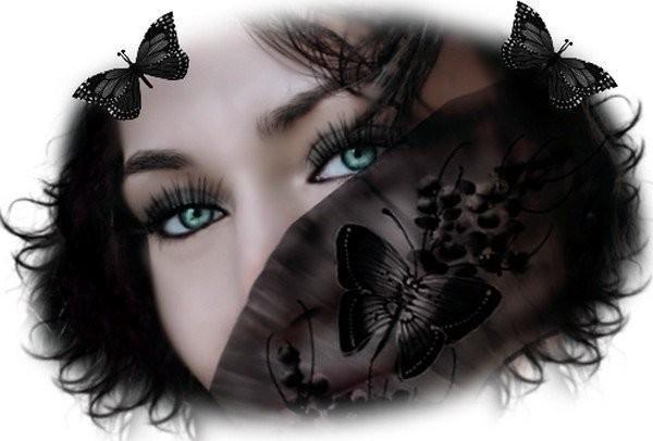 L'imaginaire de la jeune fille au papillon