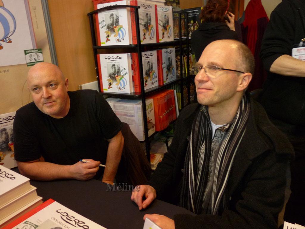 Nous rentrons dans le vif du sujet du festival de la BD à Angoulême !  Uderzo.....