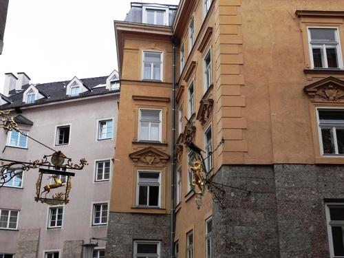 Atour du musée et de l'hôtel de ville d'Innsbrück en Aytriçe (photos)