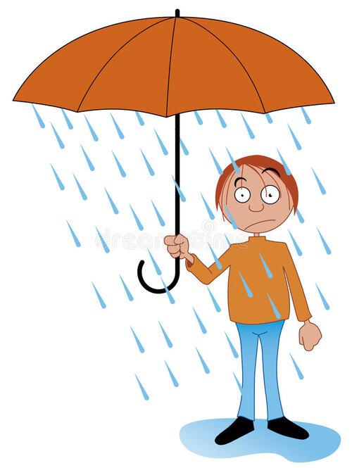 Pourquoi hésite t-on d'ouvrir un parapluie à l'intérieur ?