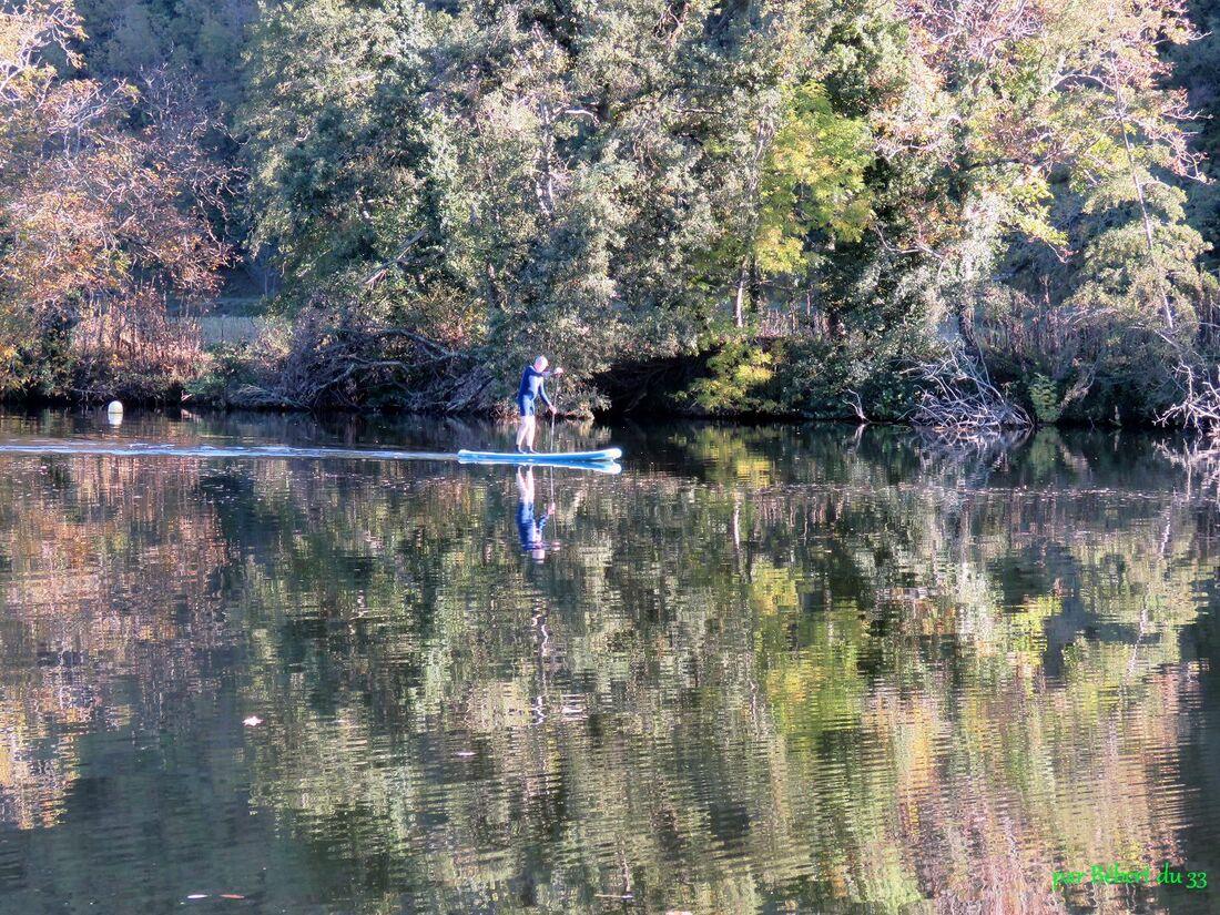 Reflets sur rivière
