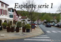 Espelette:  Pyrénées Atlantiques (64)