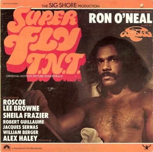"1973 : Album "" Super Fly T.N.T. (Original Motion Picture Soundtrack) "" Buddah Records ‎2318 087 [ UK ]"