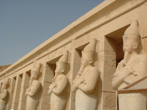 Temple de Deir el Bahari en Ezypte (photos)