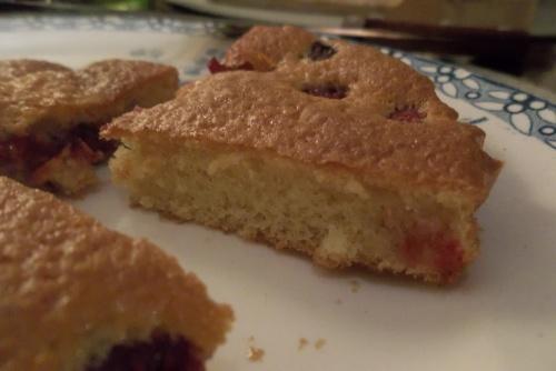 Mini cakes renversés à la framboise